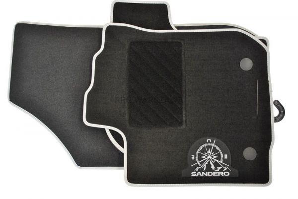 /B2 CarFashion Jeu de tapis de sol toutes saisons pour Sandero II Stepway par /