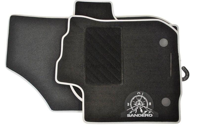 Sandero II (2012-present) - Textile floor mat Aventure (Dacia Original)