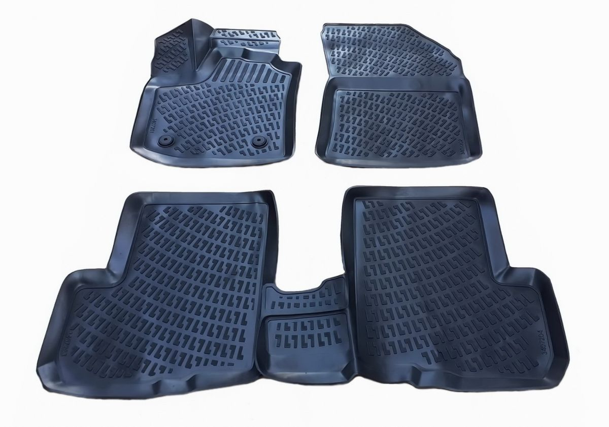 Lodgy - Rubber floor mats with high edges