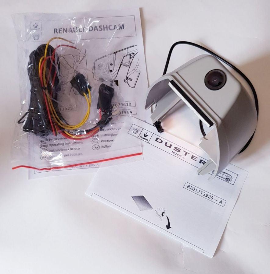 Duster II (2018-2021) - Grabador de vídeo para espejo retrovisor con sensor de lluvia y luminosidad (Dashcam) (Dacia Original)