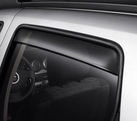 Duster (2010-2017) - Wind deflectors rear (Dacia Original)