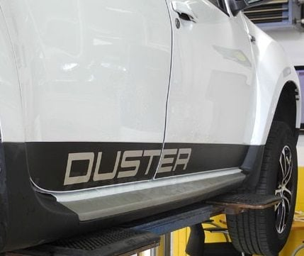 Duster - Side doors stickers