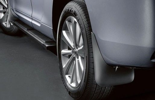Duster (2010-2017) - Mudguards set Rear (Dacia Original)