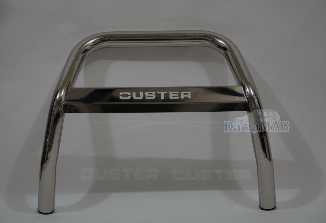 Duster (2010-2017) - Bullbar delantero con Logo (Dacia Original)