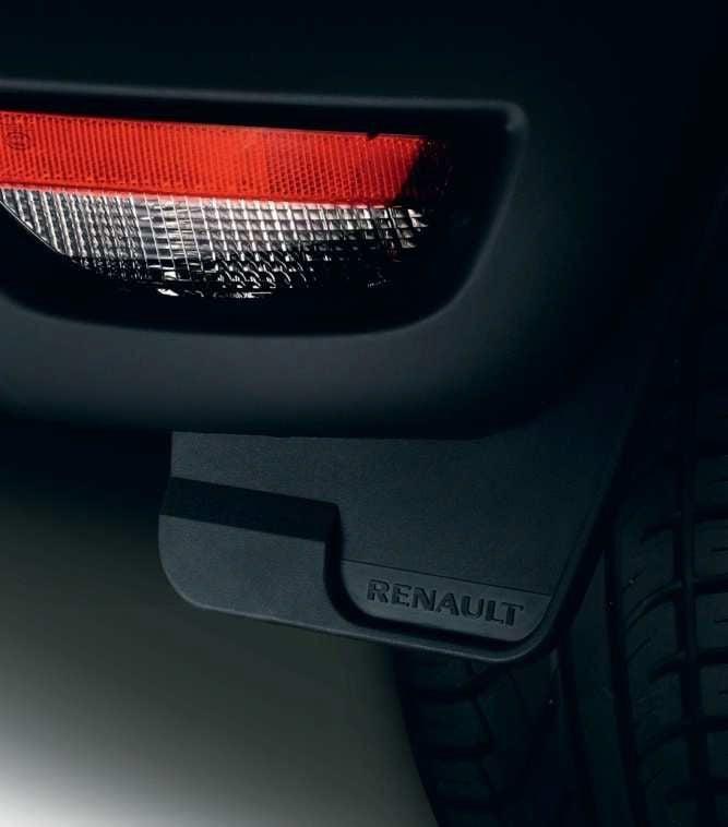 Renault Captur - Mudguards set front or rear (Renault Original)