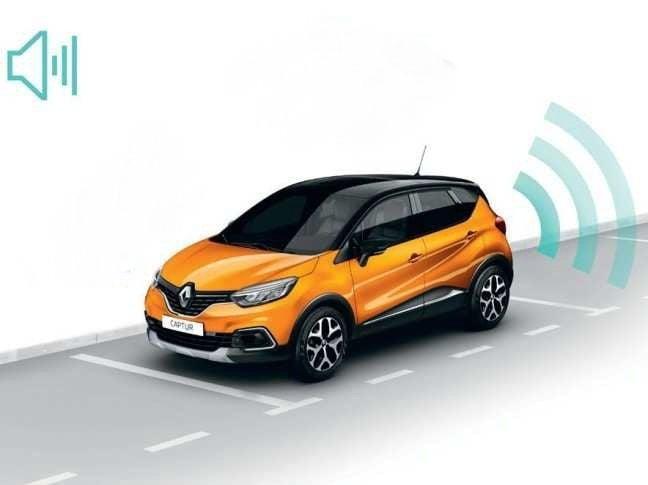 Renault Captur - Sensores de aparcamiento trasero (Renault Original)