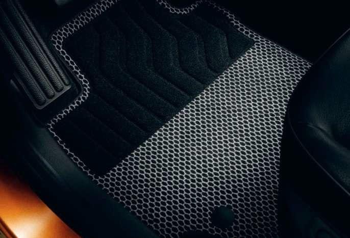 Renault Captur - Textile floor mats Premium (Renault Original)