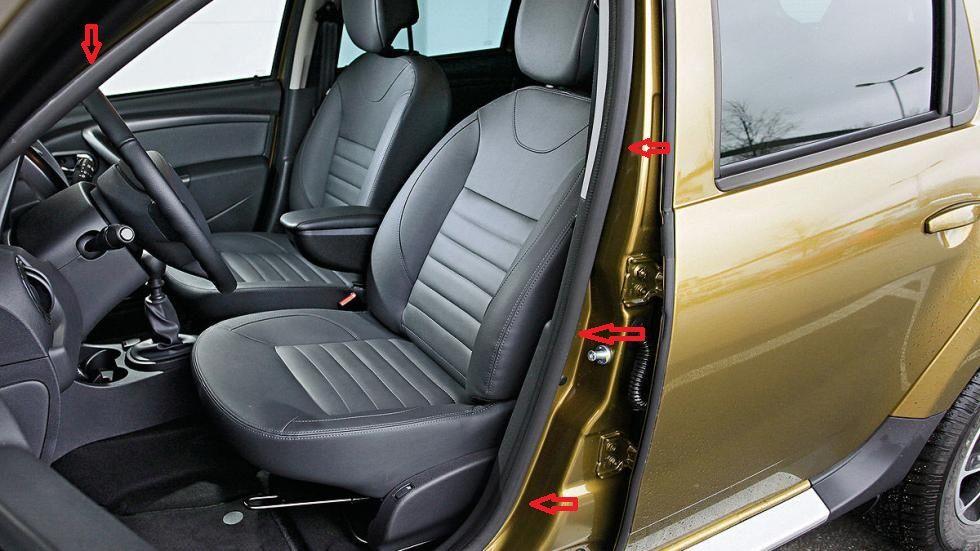 Duster (2010-2017) - Sellos interiores de puertas- delantero izquierdo (Dacia Original)
