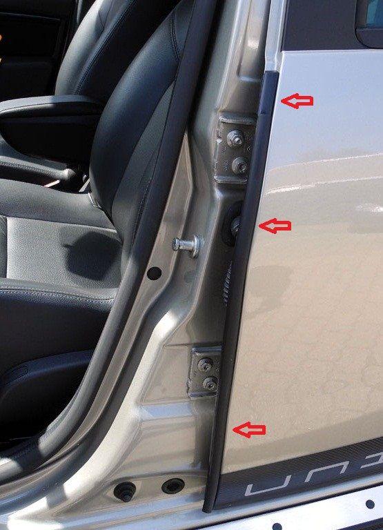 Duster (2010-2017) - Door seals (Dacia Original)