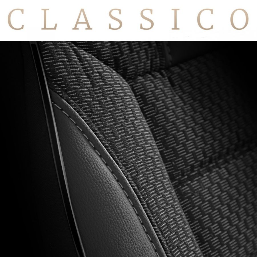 Sandero II (2012-2020) - Seat covers Classic Chic - tailor made for Sandero