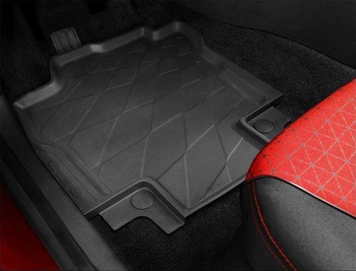 Renault Clio IV - Esteras del piso de goma con bordes altos (Renault Original)