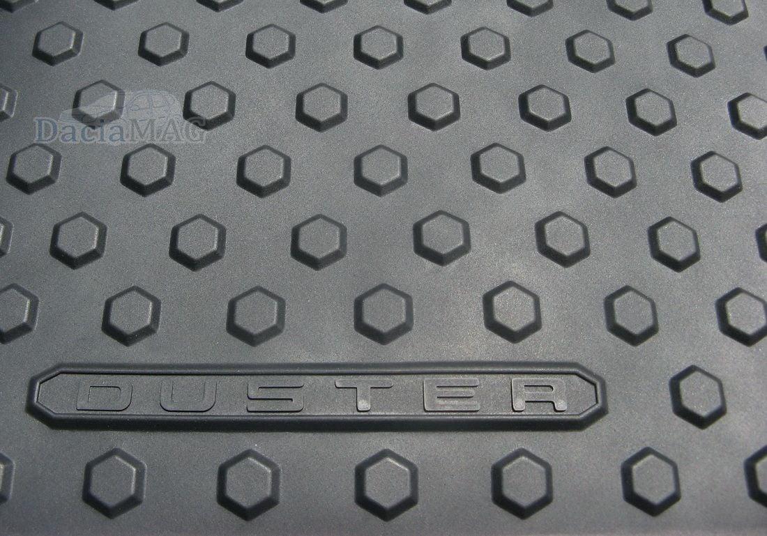 Duster (2014-2017) - Esteras del piso de goma con bordes altos (Dacia Original)