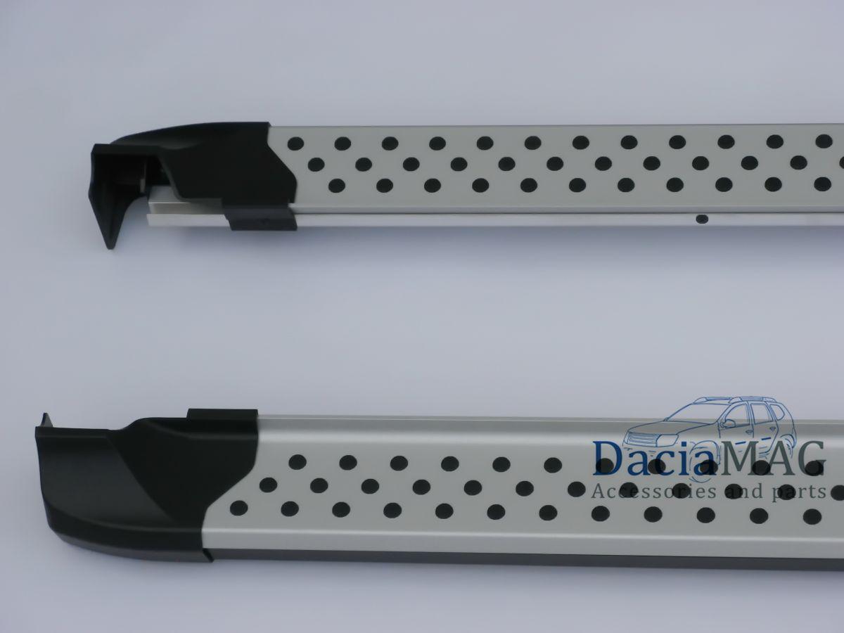 Duster II (2018-2021) - Premium Side step bars (Dacia Original) including installation kit
