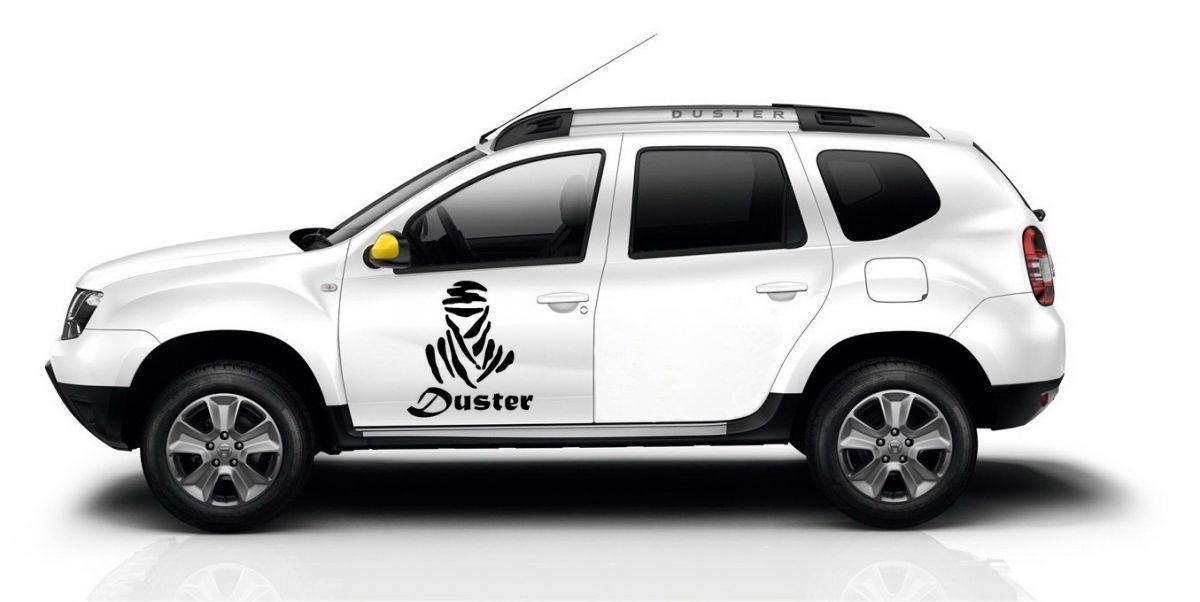 Duster - Autocollants ensemble
