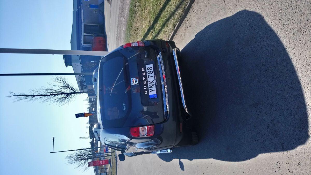 Ny monterad Rear Crome Protection bar