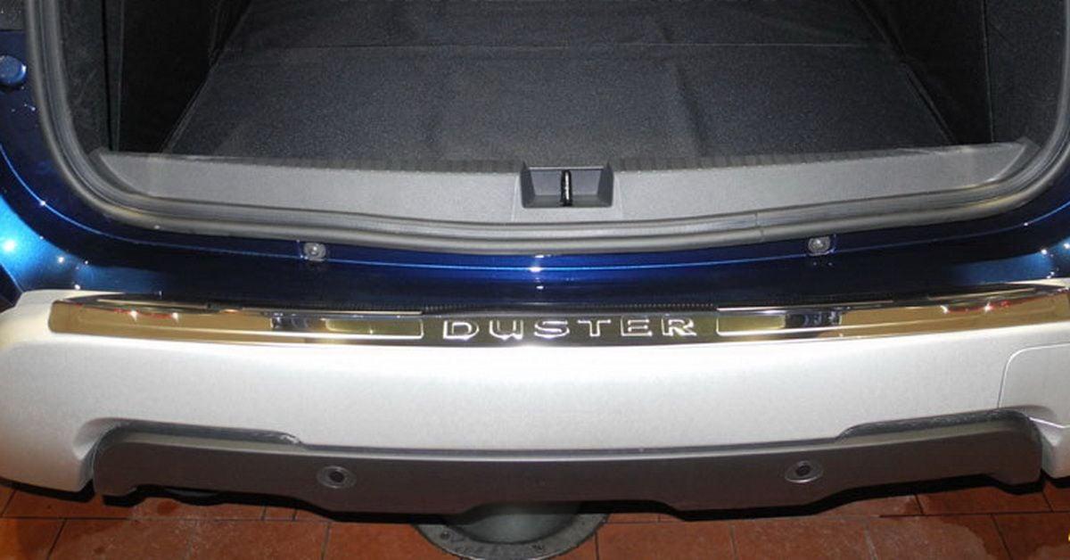 Duster II (2018-2021) - Protector del umbral del maletero