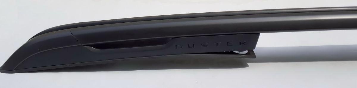 Duster II (2018-2021) - Barras de techo longitudinal set- Edición negro (Dacia Original)