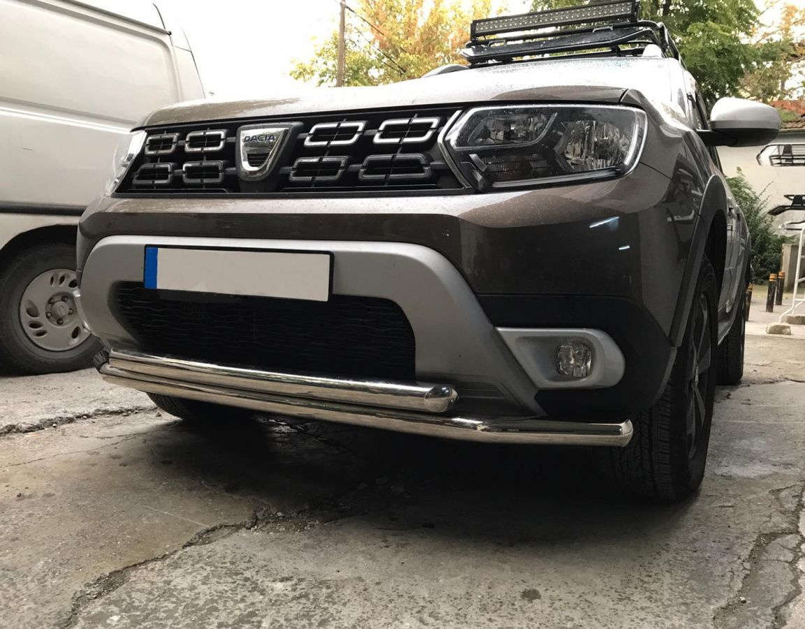 Duster II (2018-2021) - Front protection double bar