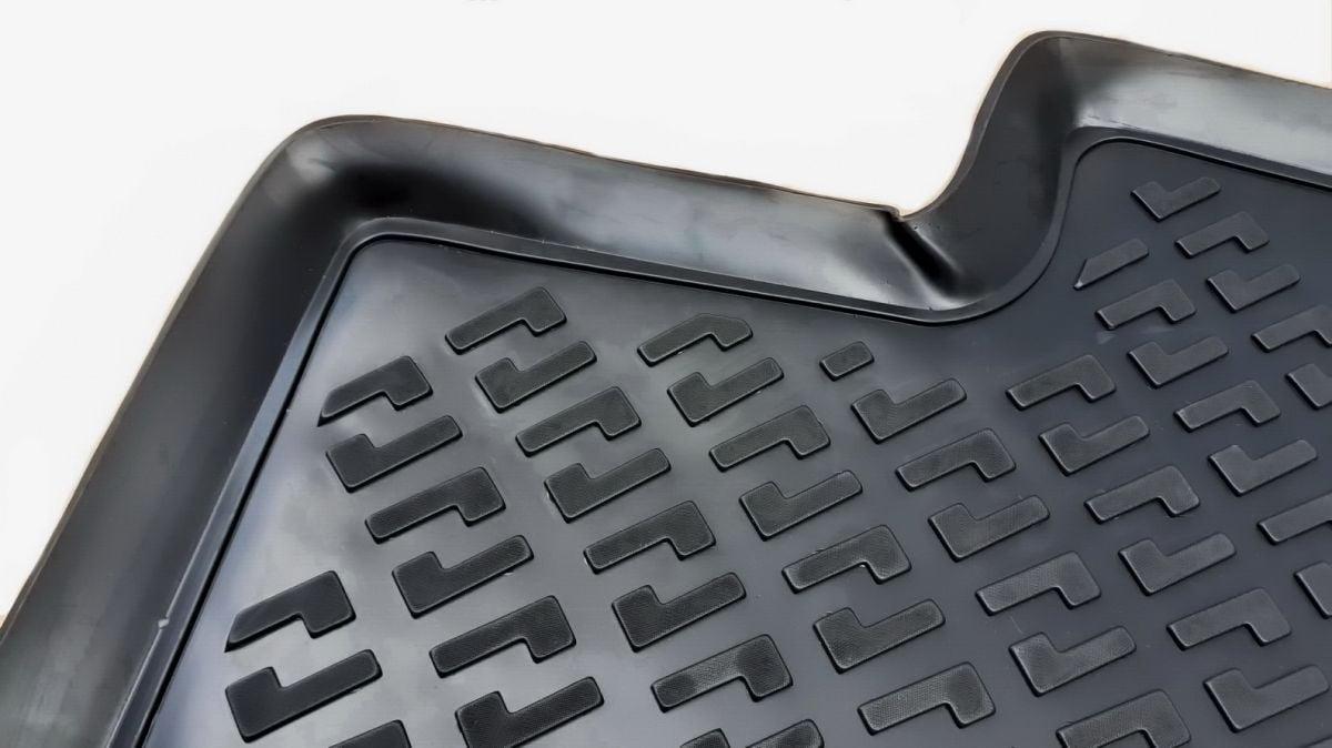 Duster II (2018-2021) 4x2 - Esteras del piso de goma con bordes elevados