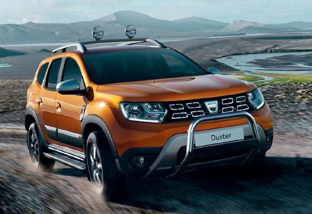 Duster II (2018-2021) - Bullbar delantero con Logo (Dacia Original)