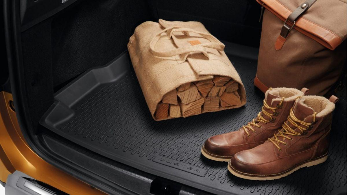 Duster II 4x4 (2018-2021) - Bandeja de protección del maletero (Dacia Original)