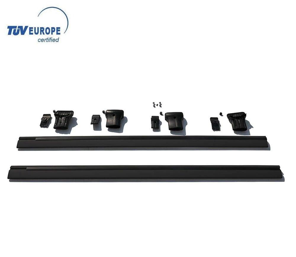 Duster II (2018-2021) - Barras de techo travesaños Elegance (Certificado TÜV)