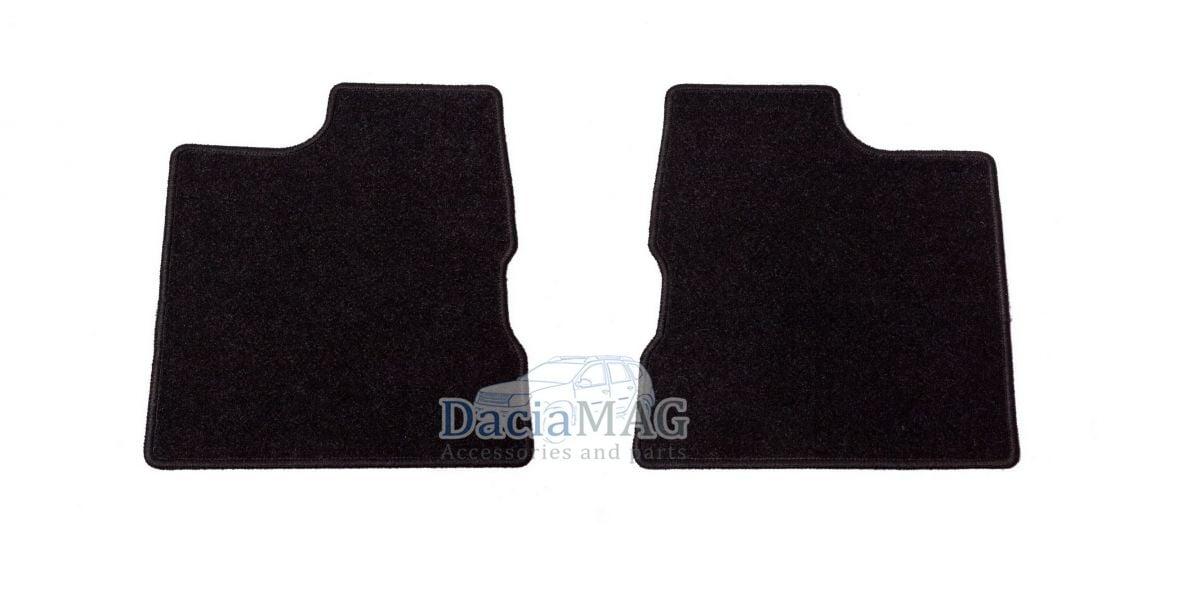 Duster II (2018-2021) - Esteras del piso textil Confort (Dacia Original)