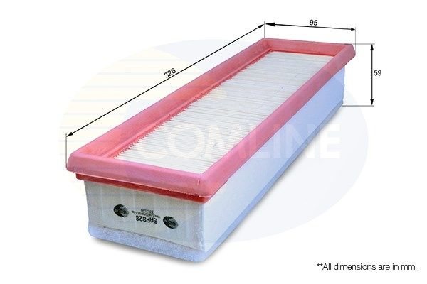 Air filter EAF828 (COMLINE)