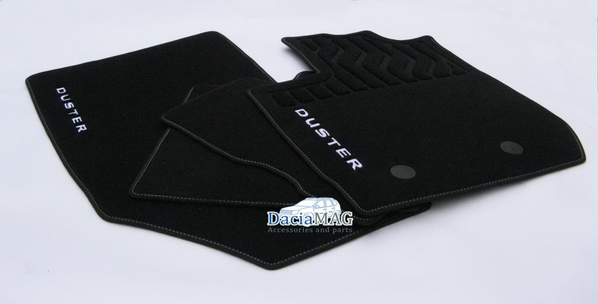 Duster II (2018-2021) - Esteras del piso textil Premium (Dacia Original)
