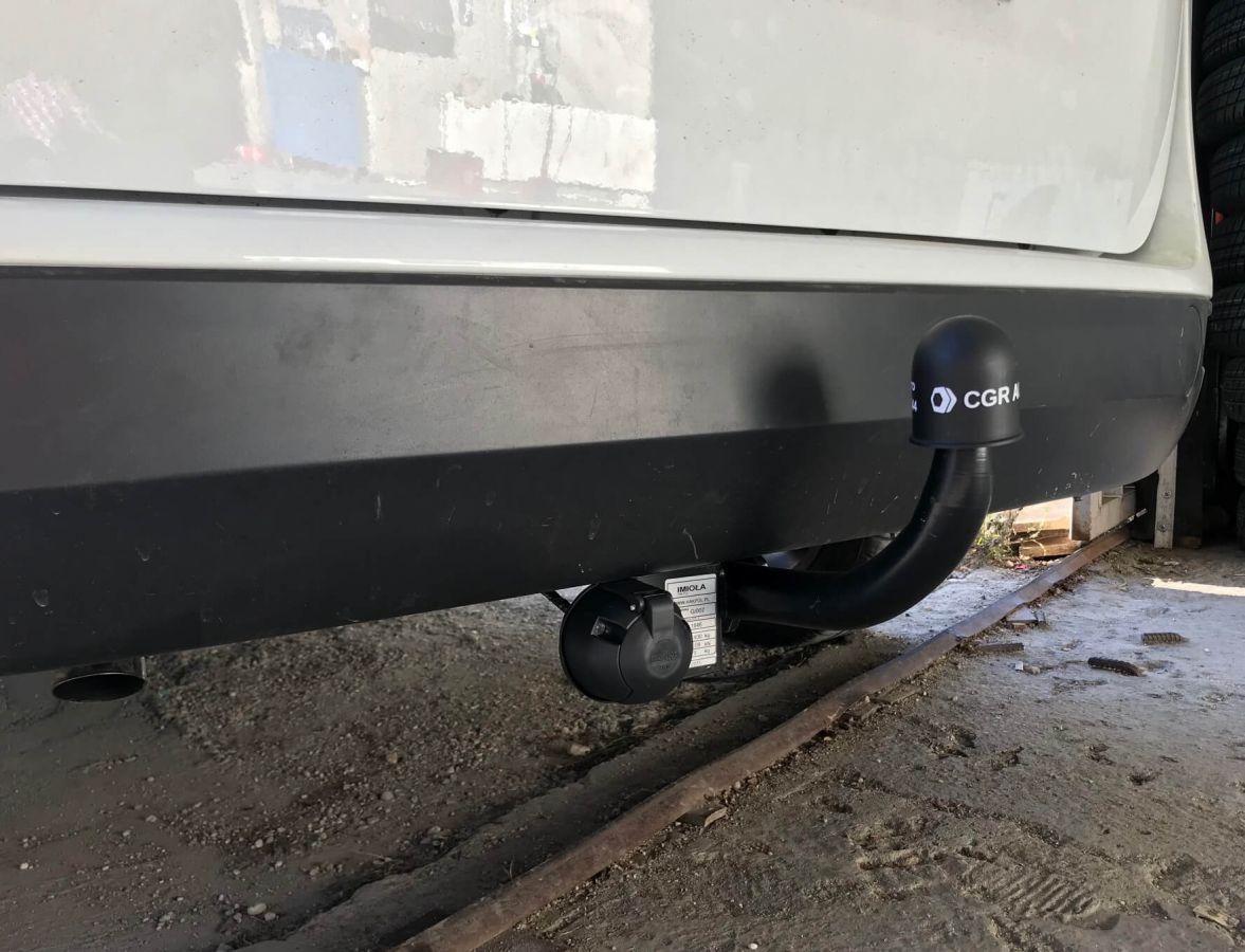 Lodgy - Conjunto de remolque (gancho de remolque + barra de remolque + kit eléctrico) Galia