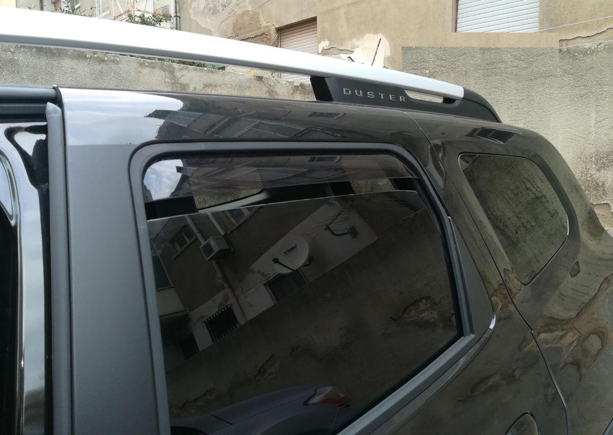 Deflettori del vento posteriore per Dacia Duster II