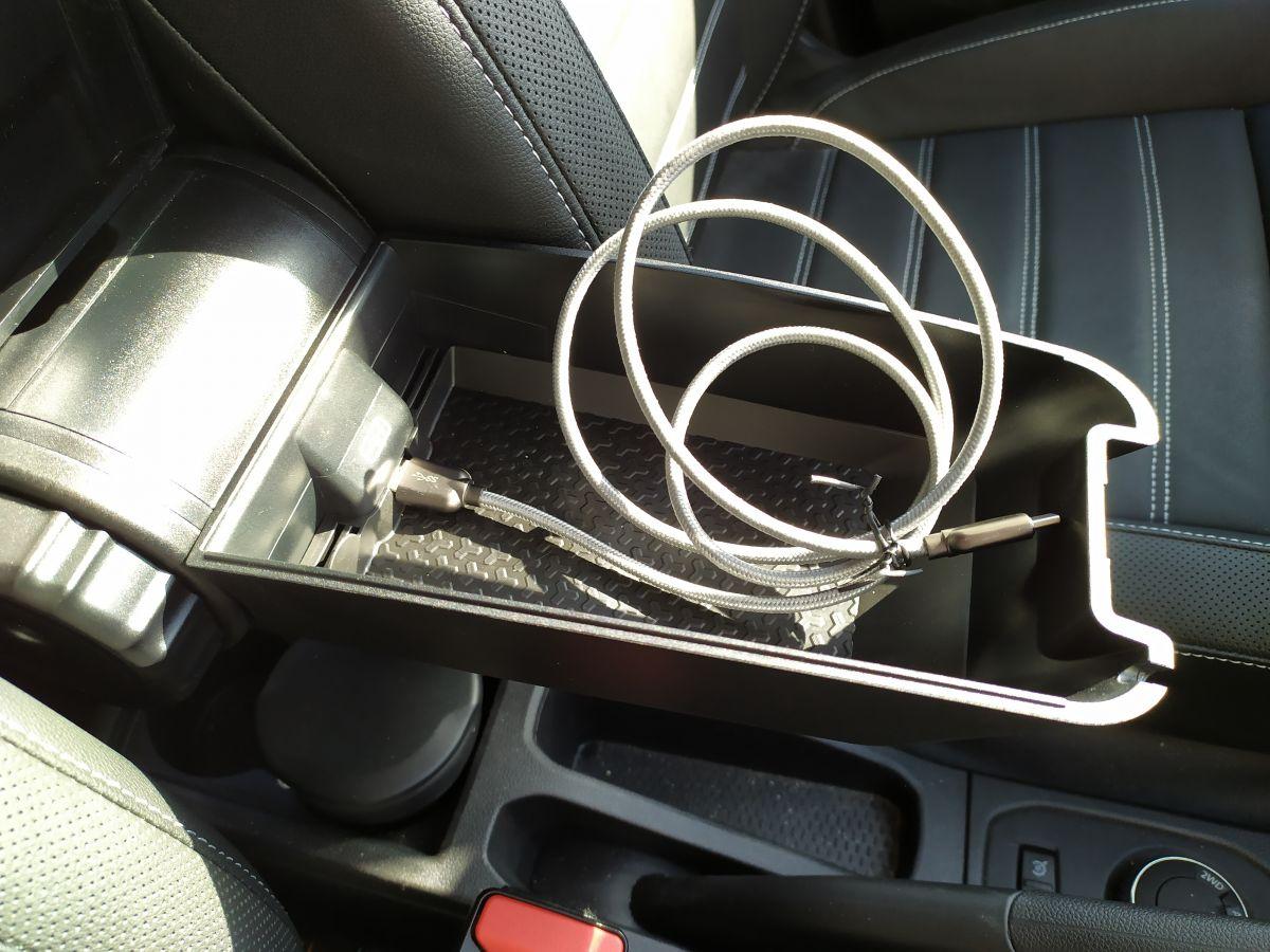 Duster II (2018-julio 2021) - Premium apoyabrazos versión Prestige (con soporte lumbar y conexión USB) (Dacia Original)