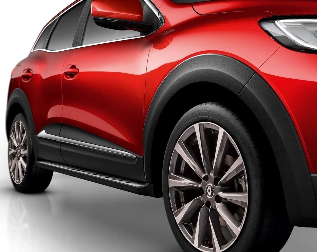 Renault Kadjar - Molduras pasos de rueda conjunto- delantero y trasero (Renault Original)
