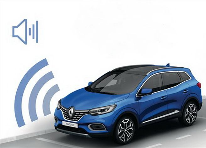 Renault Kadjar - Sensores de aparcamiento delantero (Renault Original)