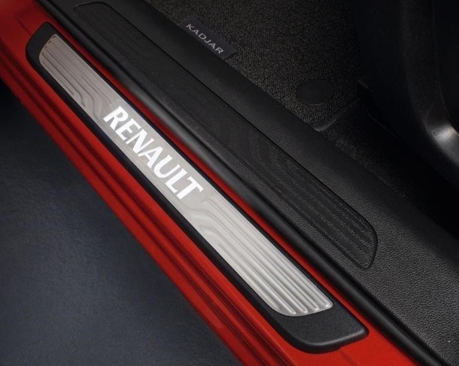 Renault Kadjar - Protección umbrales de puerta iluminados- delantero (Renault Original)