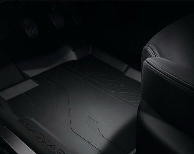 Renault Kadjar - Rubber Mats with high edges (Renault Original)