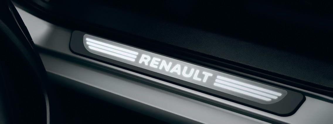Renault Koleos II - Illuminated door sills- front and rear (Renault Original)