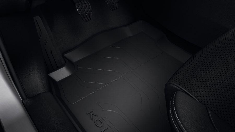 Renault Koleos II - Esteras del piso de goma con bordes altos (Renault Original)