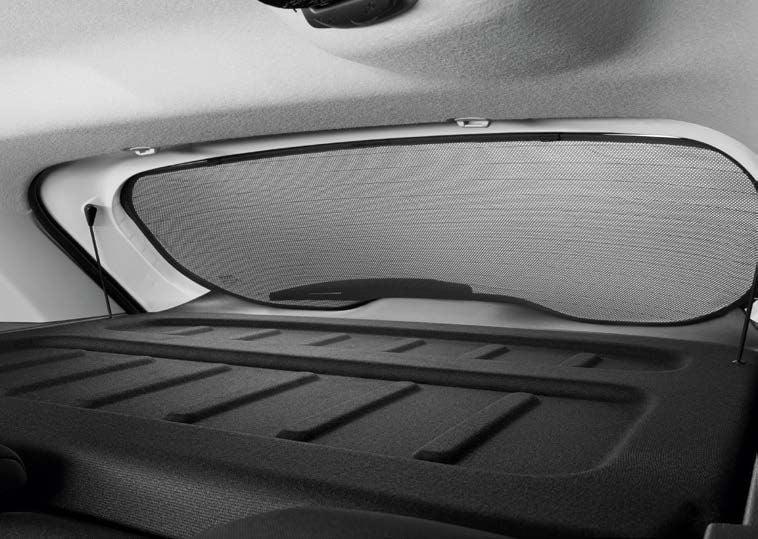 Renault Koleos II - Parasoles cortinillas -conjunto de 5 piezas (Renault Original)