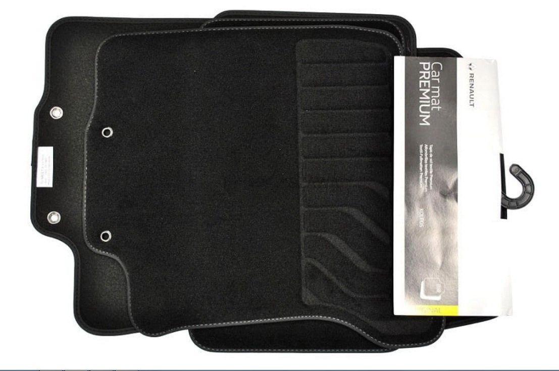 Renault Koleos II - Esteras del piso textil Premium (Renault Original)