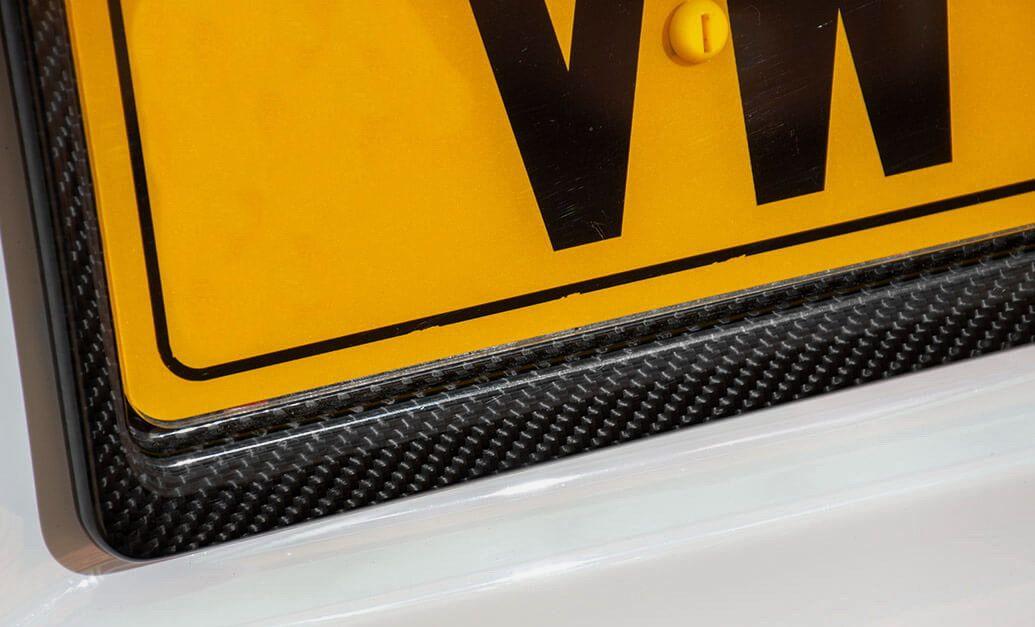Carbon fiber license number plate frames (standard size EU/UK)