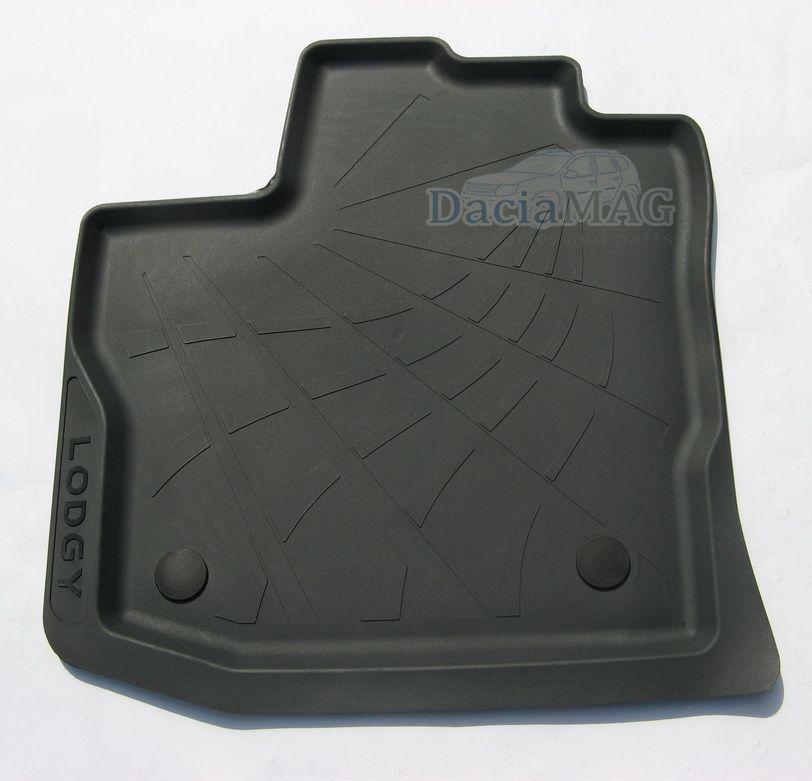 Lodgy (7 asientos) - Esteras del piso de goma (Dacia Original)