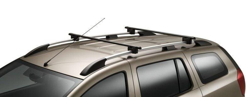 Logan II MCV - Barras de techo travesaños de acero (Dacia Original)