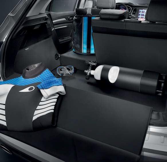 Renault Megane IV - Protector del maletero contra la suciedad EasyFlex (Renault Original)