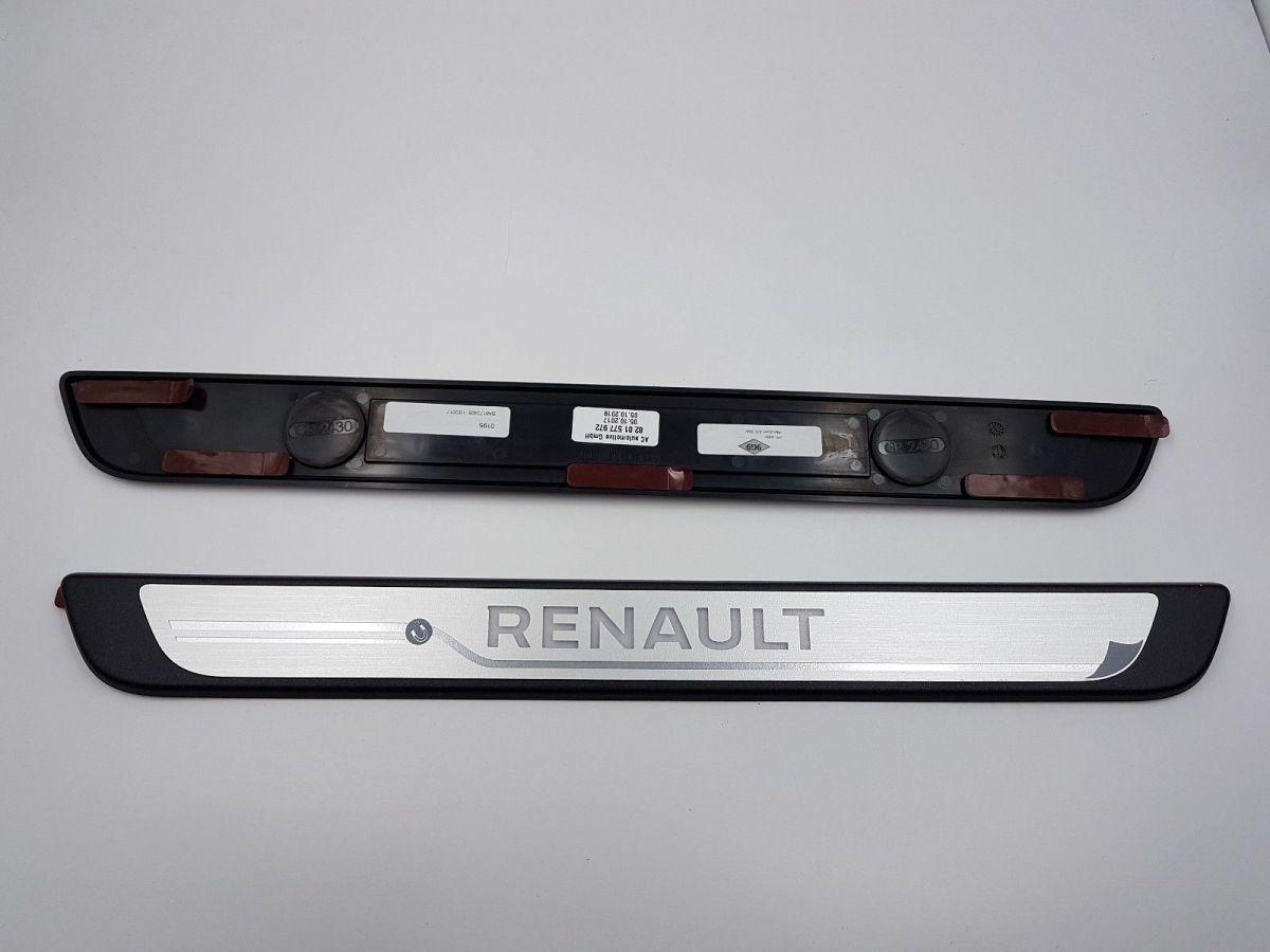 Renault Megane IV - Protección umbrales de puerta iluminados- delantero (Renault Original)