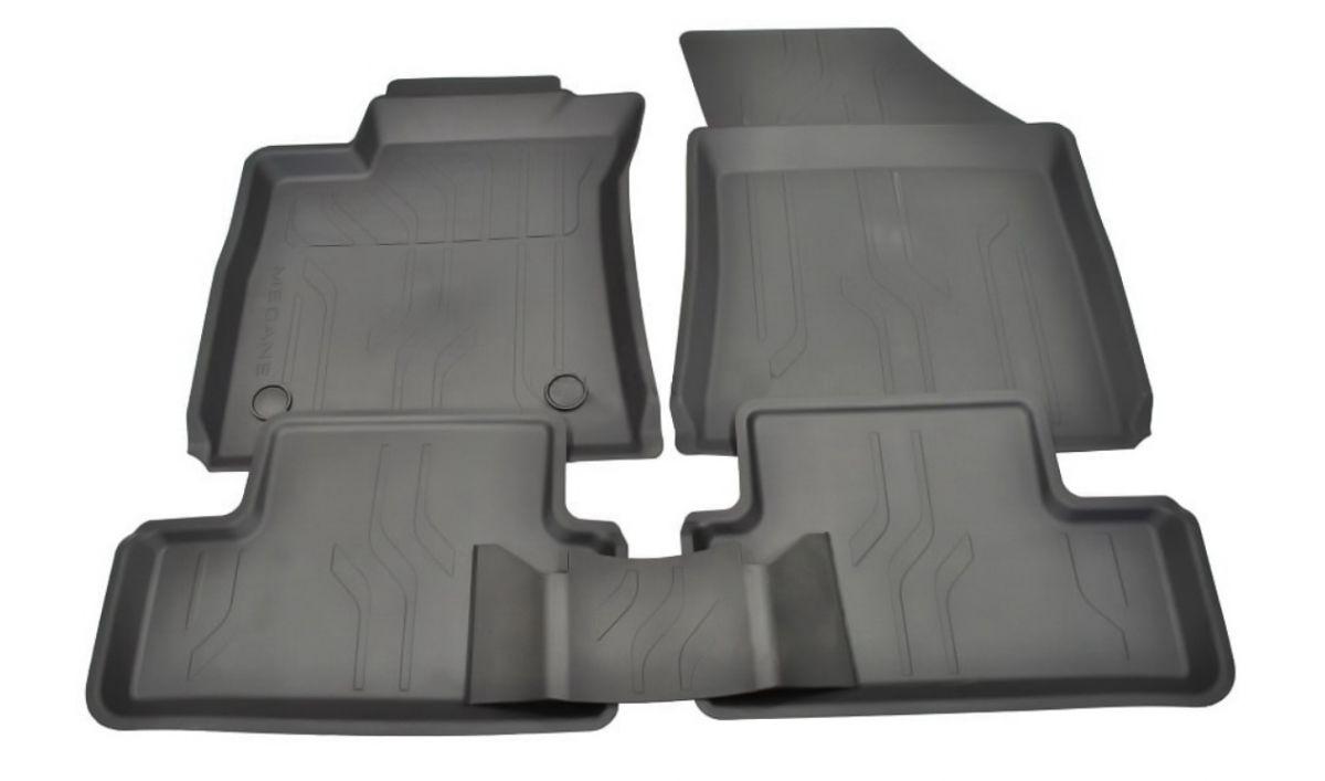 Renault Megane IV - Esteras del piso de goma con bordes altos (Renault Original)