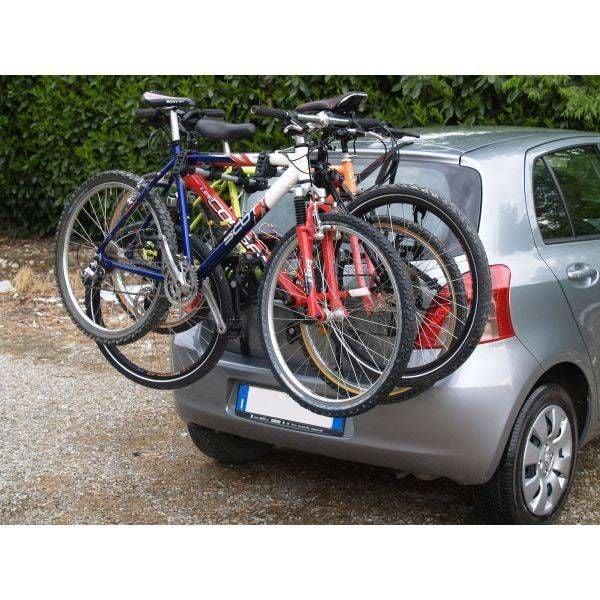 Menabo Biki bike holder for 3 bikes with tailgate / trunk