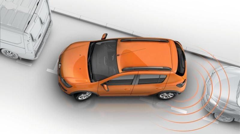 Dacia - Rear parking sensors (Dacia Original)