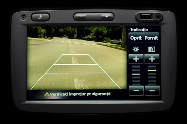 Sandero II (2012-presente) - Cámara de visión trasera (Dacia Original)