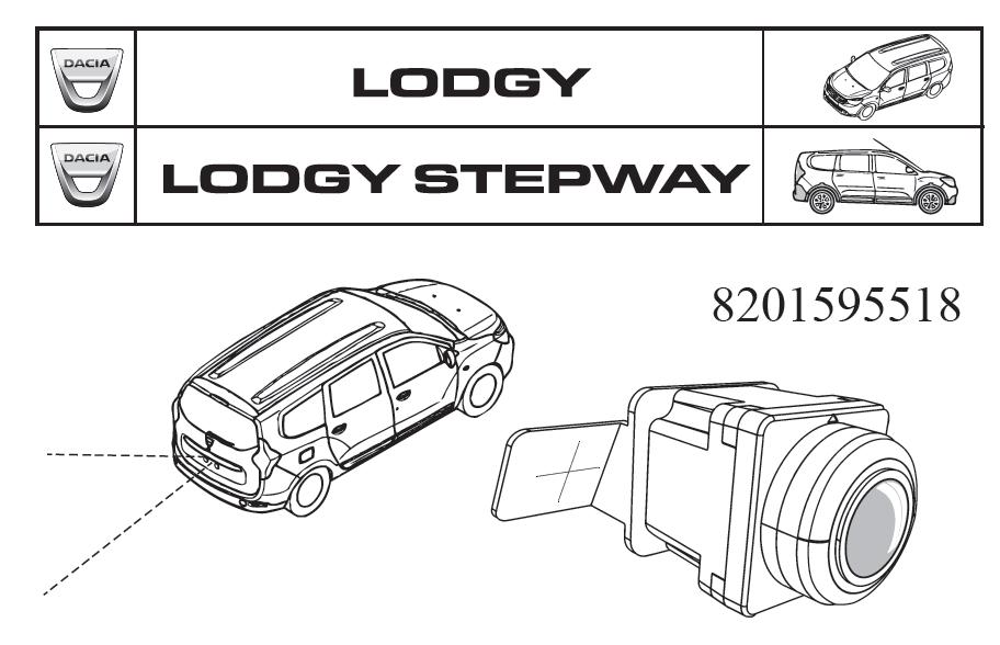 Lodgy - Cámara de visión trasera (Dacia Original)